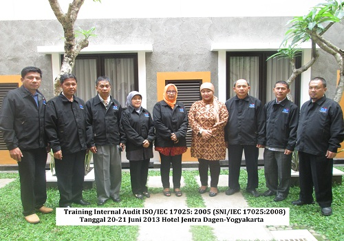 Training Internal Audit ISO 17025 Yogyakarta