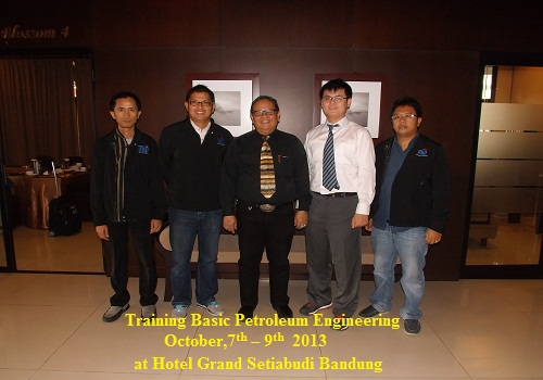 Training Basic Petroleum Engineering (09-11 Maret 2020 Yogyakarta)