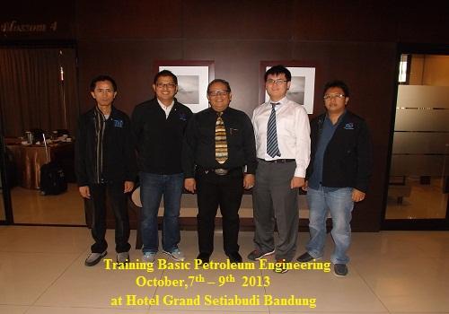 Training Basic Petroleum Engineering