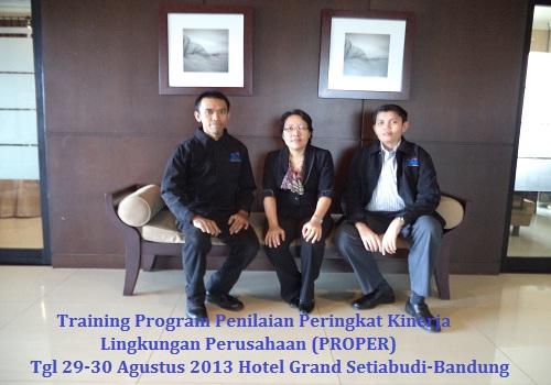 Training PROPER Jakarta Bandung Yogyakarta Bali