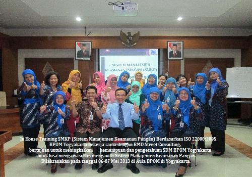 Training ISO 22000:2018 (Understanding and Implementing Food Safety Management System) (29-30 Oktober 2018 Bogor)