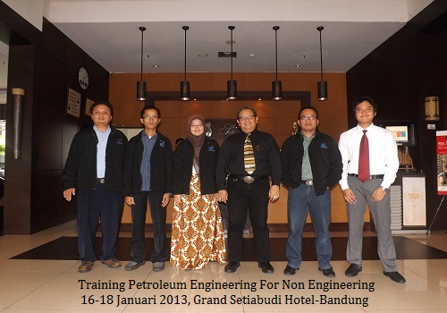 Training Petroleum Engineering for Non Engineering (14-16 Agustus 2019 Bogor)