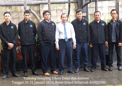 Sampling udara & Ambien 20-21 Jan 2014 Grand Setiabudi
