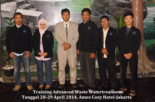 Training Advanced WasteWater Treatment (30-31 Agustus 2018 Bandung)