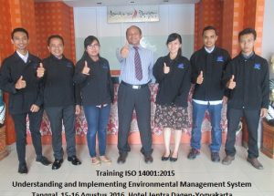 Training ISO 14001-Understanding and Implementing Environmental Management System (29-30 November 2018 Yogyakarta)