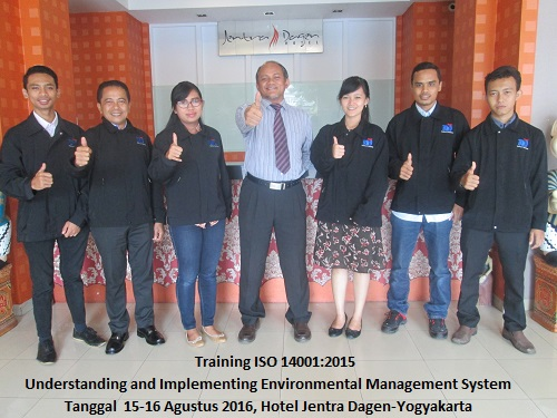 Training ISO 14001-Understanding and Implementing Environmental Management System (23-24 Agustus 2018 Bandung)