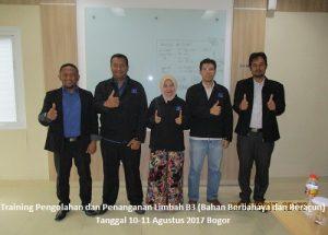 Training Limbah B3 – Pengolahan dan Penanganan Limbah B3 Bahan Berbahaya dan Beracun (22-23 Februari 2018 Jakarta)