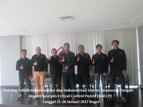 Training HACCP – Teknik Implementasi dan Dokumentasi Sistem Keamanan Pangan Hazard Analysis Critical Control Points (100% RUNNING 6-7 Desember 2018 Jakarta)