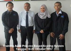 Training Audit Process Based Scoring System (6-7 September 2018 Jakarta)