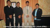 Training Operator IPAL (Operator Instalasi Pengolahan Air Limbah) (20-21 Agustus 2018 Surabaya)