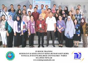Training K3 Rumah Sakit- Kesehatan dan Keselamatan Kerja Rumah Sakit (Implementasi dan Persyaratan Akreditasi SNARS Ed.1/JCI)(13-14 September 2018 Jakarta)