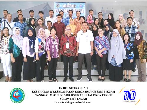 Training K3 Rumah Sakit- Kesehatan dan Keselamatan Kerja Rumah Sakit (Implementasi dan Persyaratan Akreditasi SNARS Ed.1/JCI)