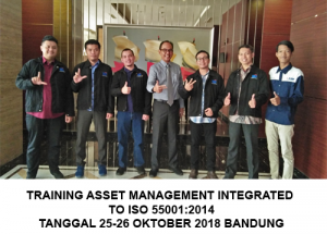 Training Asset Management Integrated to ISO 55001:2014 (100% Runing Tanggal 29-30 Juli 2019 Bandung )