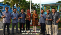 Training ISO 17025 – Laboratory Preparation ISO/IEC 17025:2017 Accreditation (02-03 Juni 2020 Bogor)