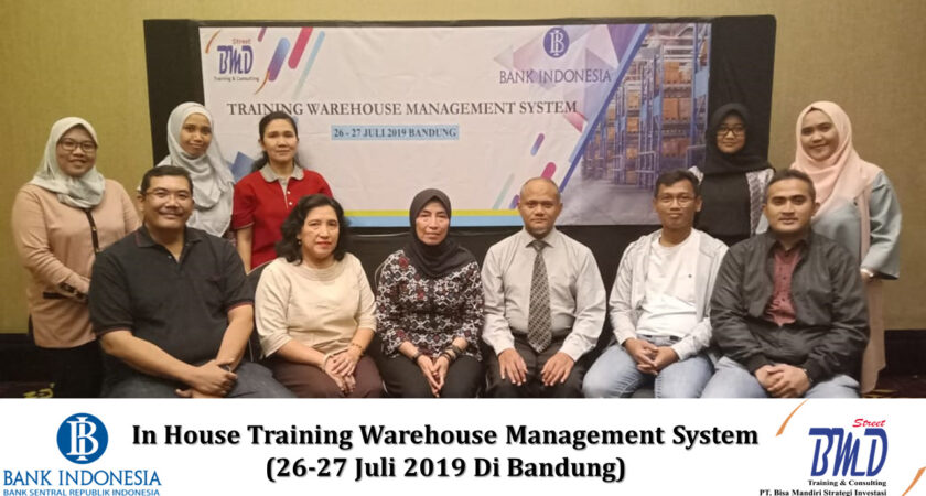 Training Effective Warehouse Management System (Sistem Manajemen Pergudangan) (09-10 April 2020 Surabaya)