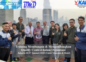 Training QA/QC (Setup, Implementasi dan Improvement Sistem Manajemen Mutu Serta Jaminan Mutu di Organisasi)