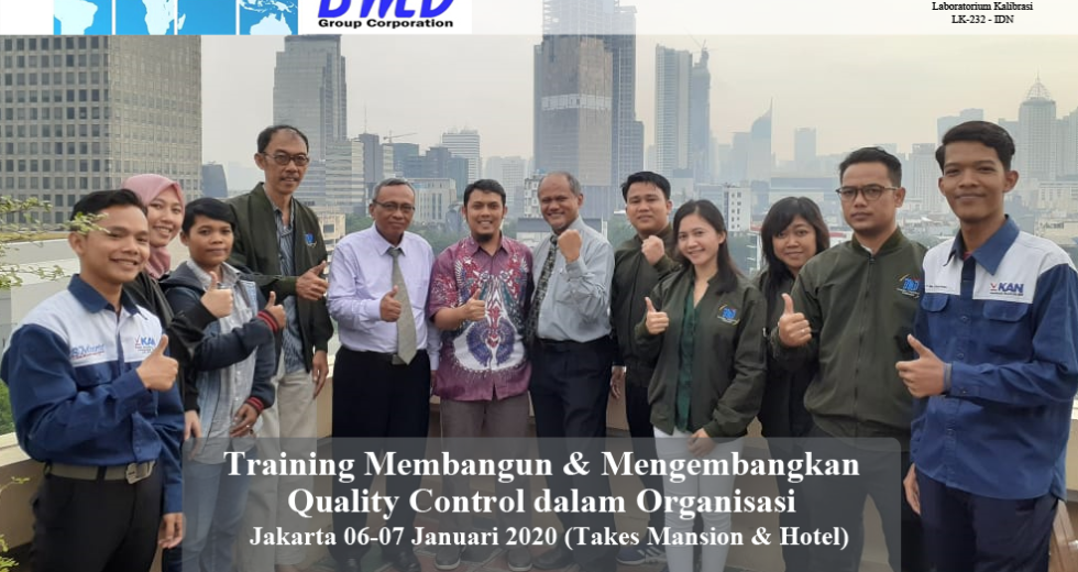 Training Quality Control/Assurance – Membangun dan Mengembangkan Quality Control/Assurance Dalam Organisasi (100% Running 16-17 April 2020 Serpong)