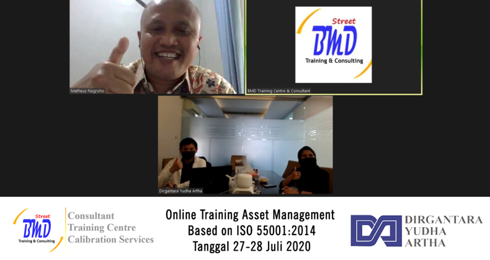 Online Training Asset Management ISO 55001:2014 (27-28 Juli 2020)
