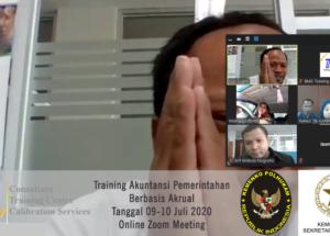 Training Sistem Akuntansi Pemerintahan Berbasis Akrual