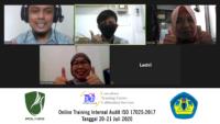 Online Training Internal Audit ISO 17025:2017 (20-21 Juli 2020)