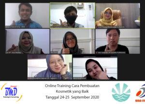 Training Cara Pembuatan Kosmetik yang Baik (CPKB) (GMP Kosmetik)