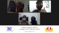 Online Training HACCP (06-07 Agustus 2020)