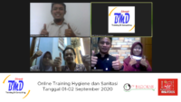 Online Training Hygiene dan Sanitasi (01-02 September 2020)