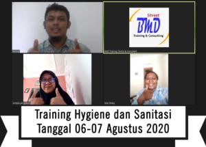 Online Training Hygiene dan Sanitasi (06-07 Agustus 2020)