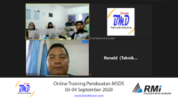 Online Training Pembuatan MSDS (03-04 September 2020)