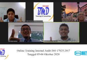 Training Audit Internal ISO 17025:2017 (Preparation Accreditation ISO/IEC 17025:2017 KAN)