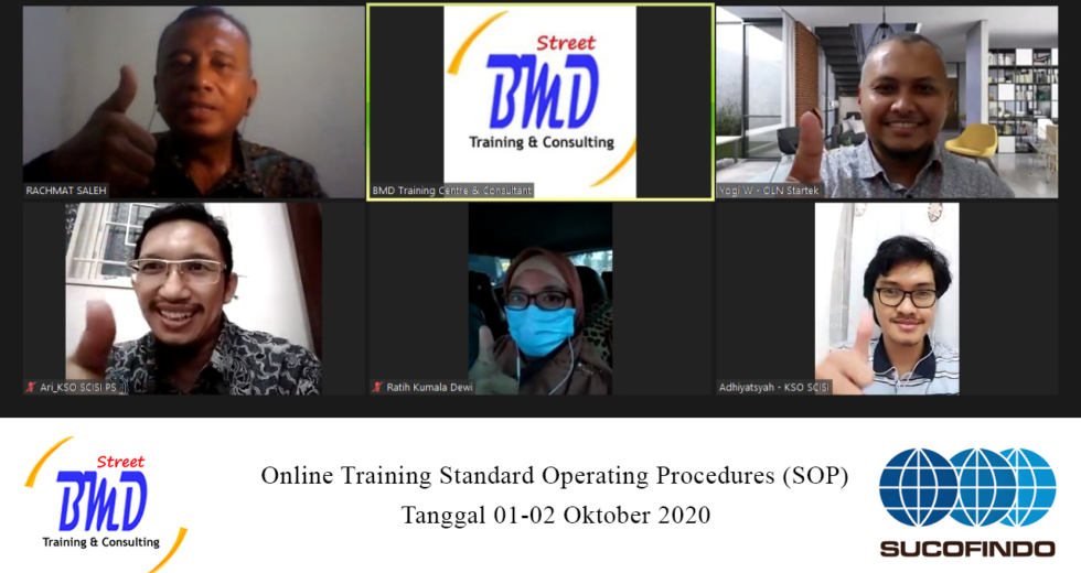 100% Running Training Standard Operating Procedure (SOP) – Teknik Improvisasi, Pengembangan SOP yang Mudah dan Jitu